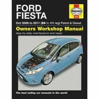 Haynes Manual Ford Fiesta 2008-11 1.25 1.4 1.6 Petrol 1.4 1.6 Diesel